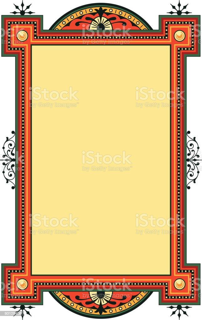 panel-71404-color royalty-free stock vector art