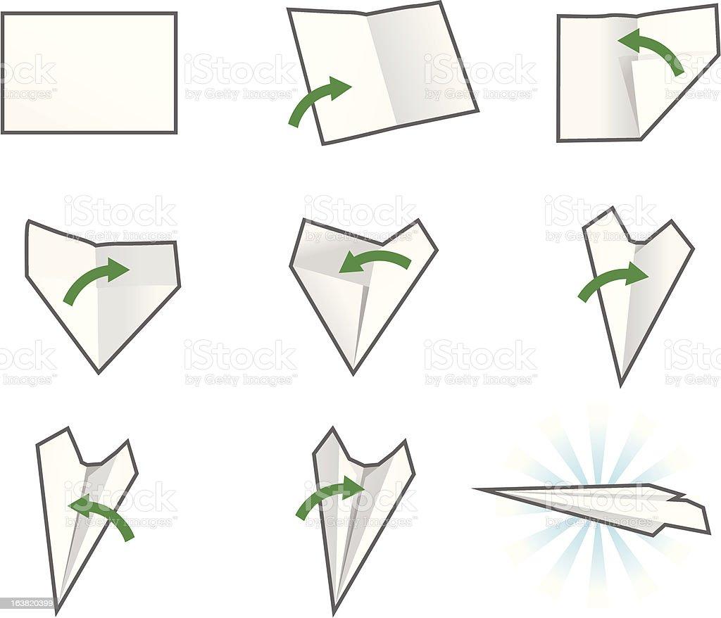 paper plane stock illustration - photo #21