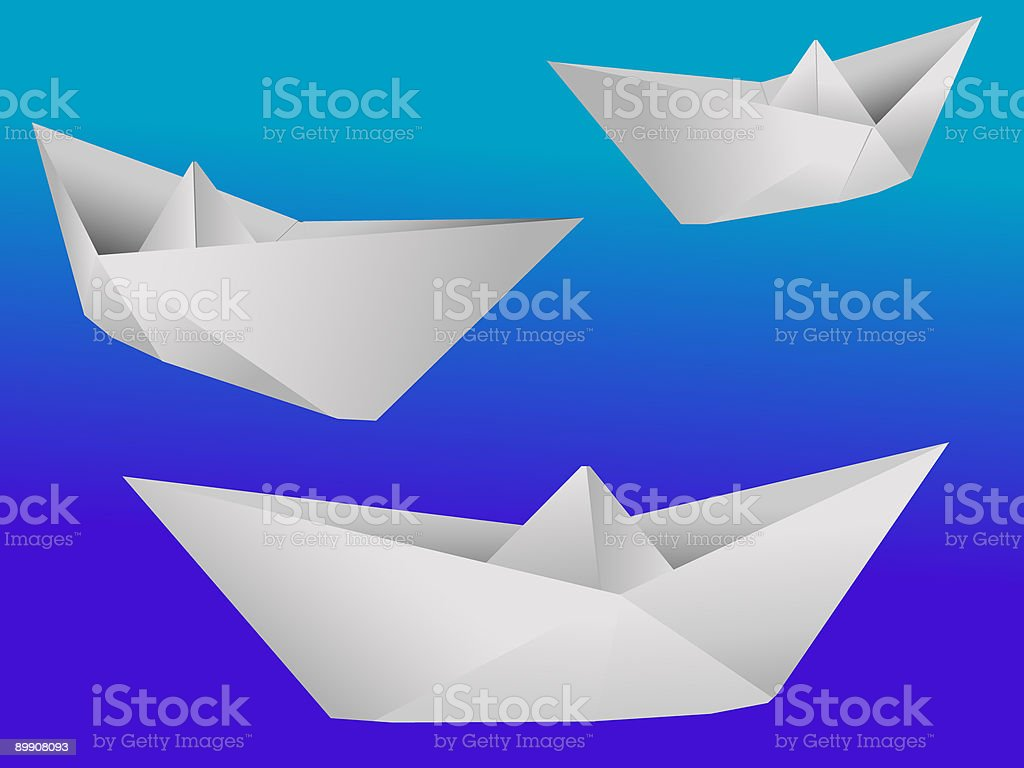 paper toy royalty-free stock vector art