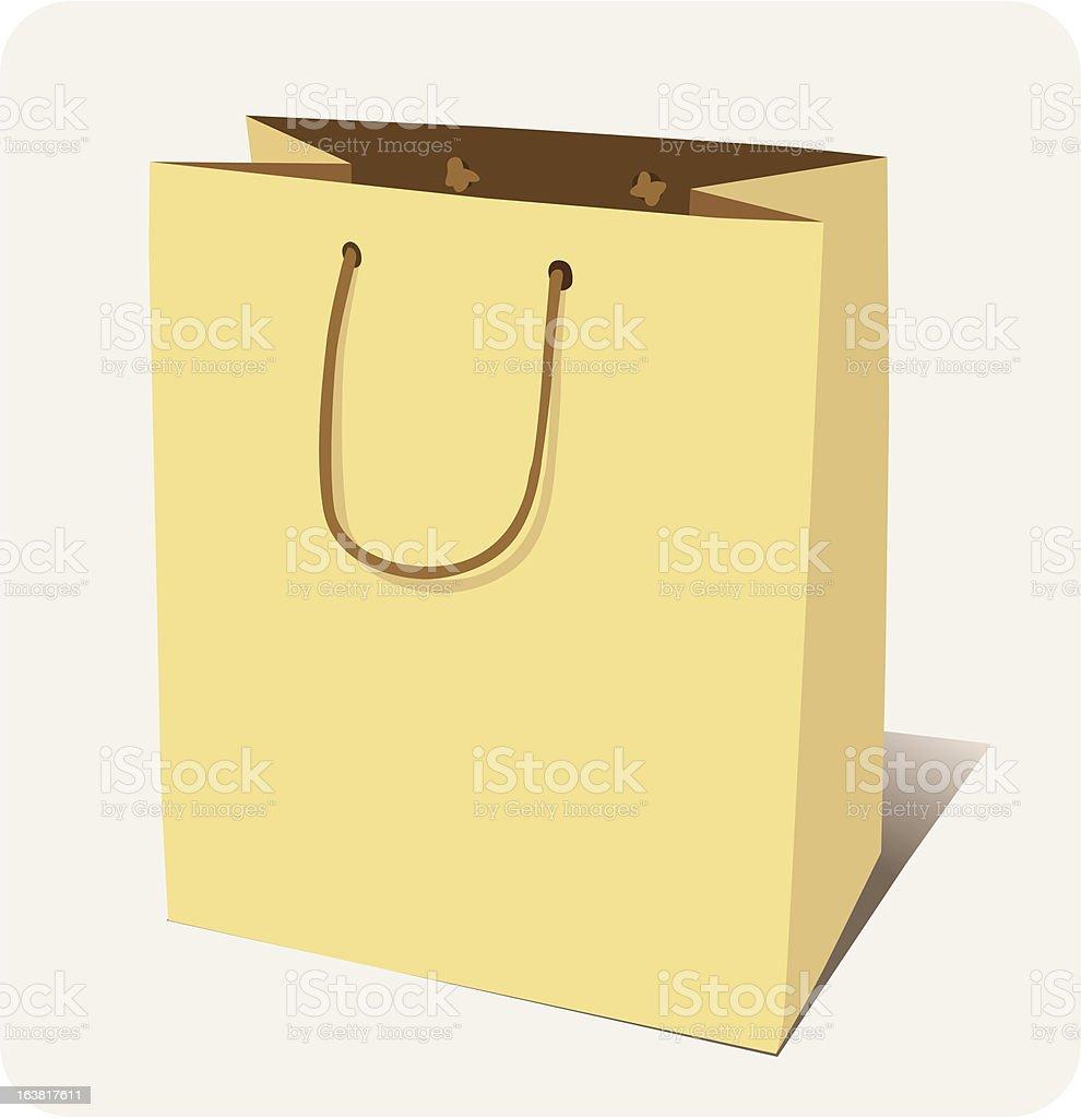 paper_bag royalty-free stock vector art