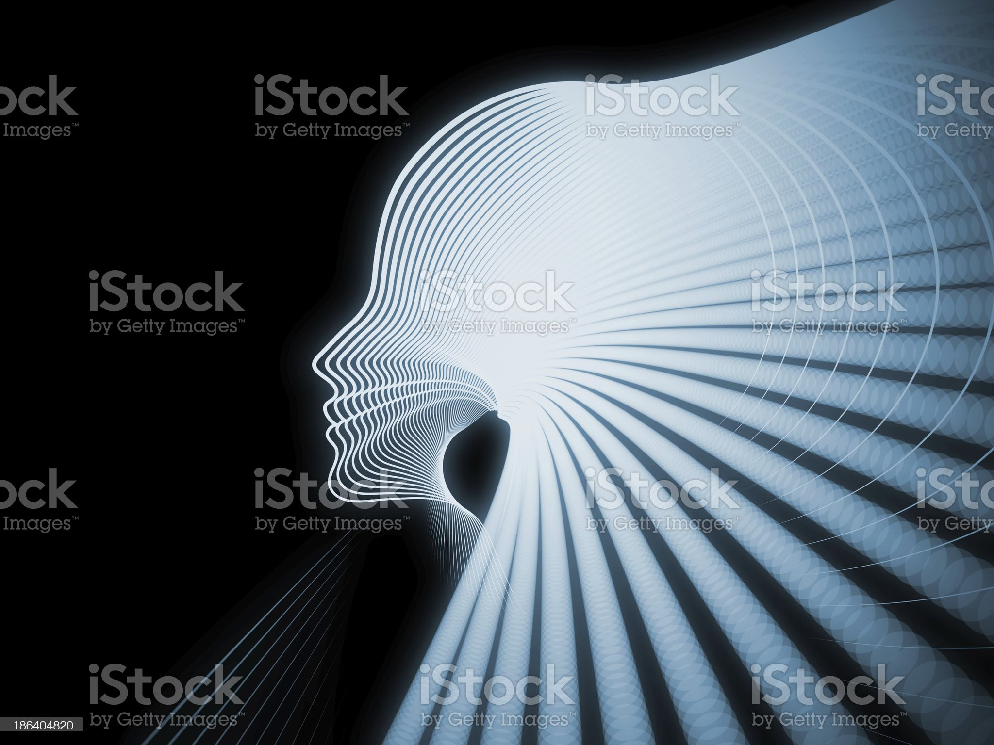 Paradigm of Soul Geometry royalty-free stock vector art