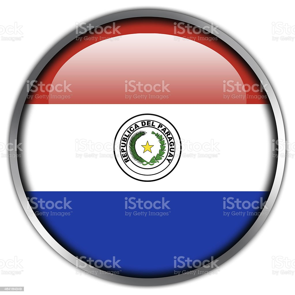 Paraguay flag glossy button stock vector art 464184349 istock paraguay flag glossy button royalty free stock vector art buycottarizona