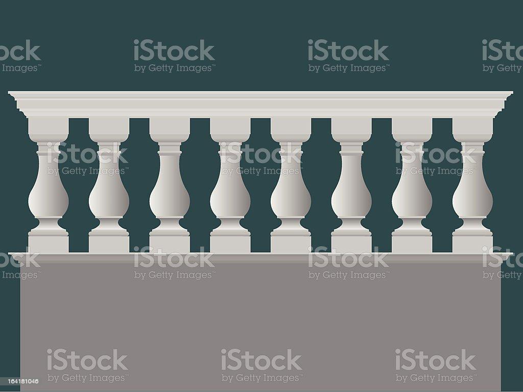 parapet royalty-free stock vector art