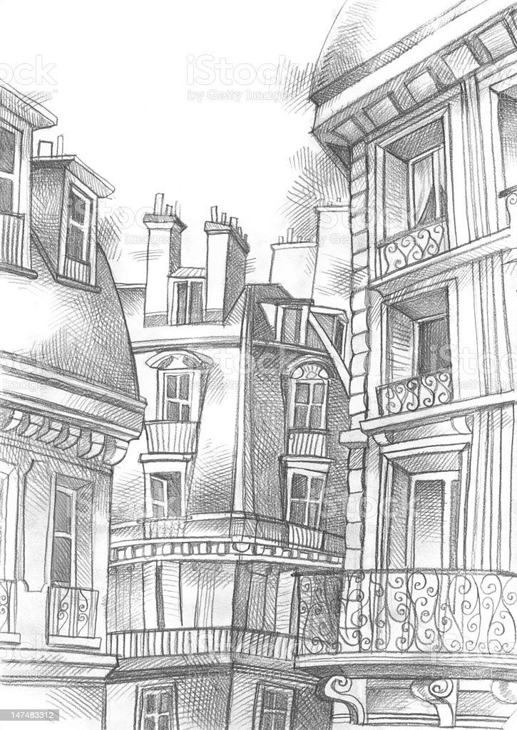 Paris Saint Germain vector art illustration