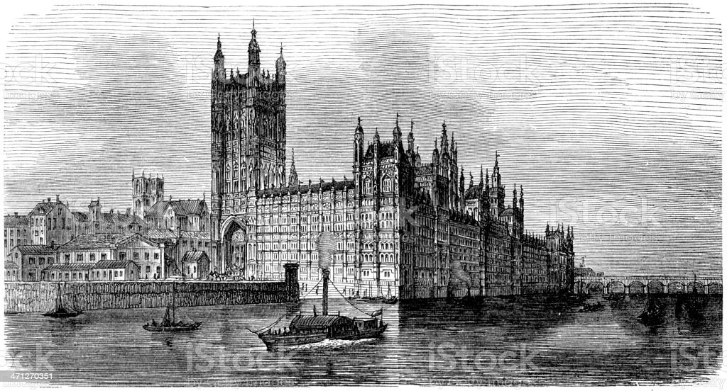 Parliament vector art illustration
