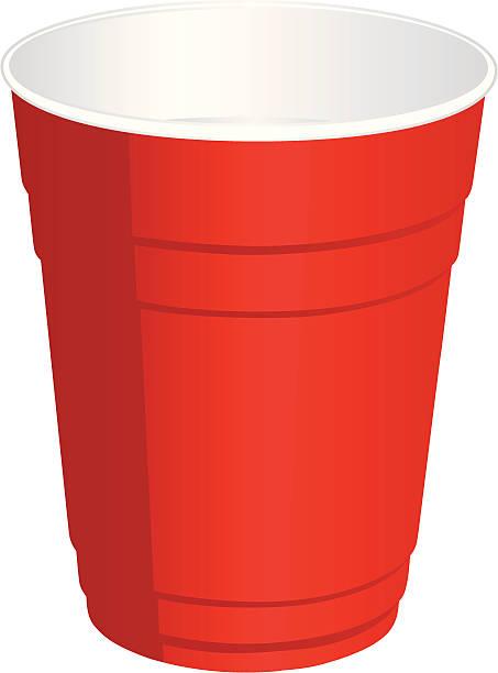 Tops Solo Cup Clip Art : Disposable cup clip art vector images illustrations
