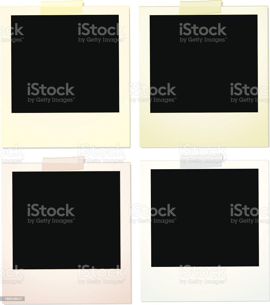 Pastel Photos - Vector royalty-free stock vector art