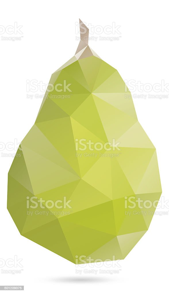 Pear royalty-free stock vector art