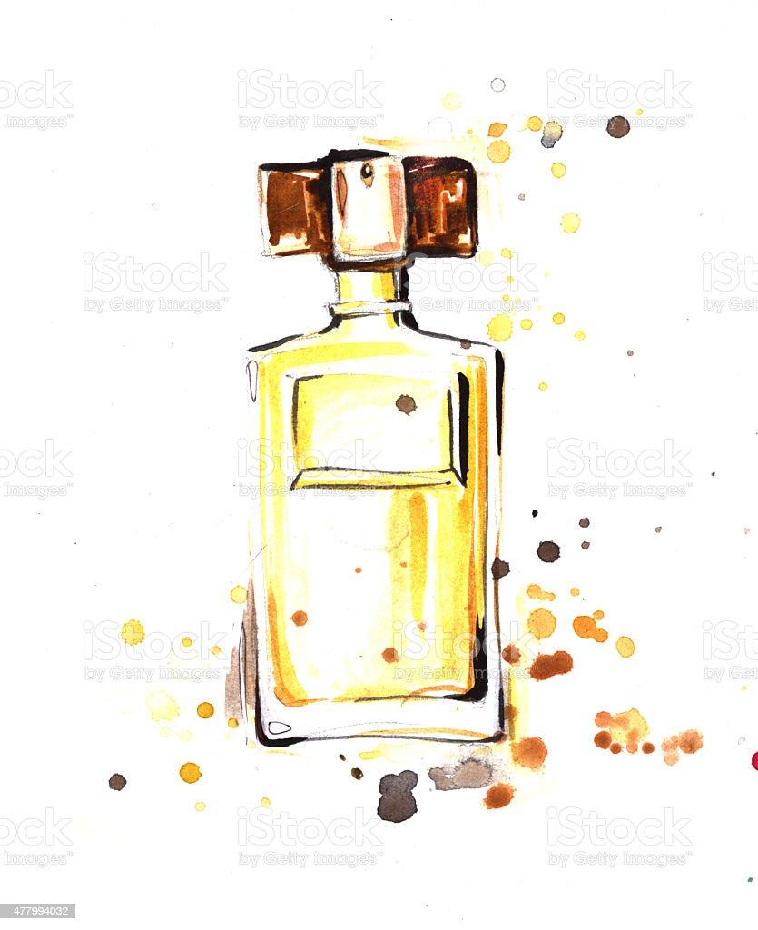 Perfume royalty-free stock vector art