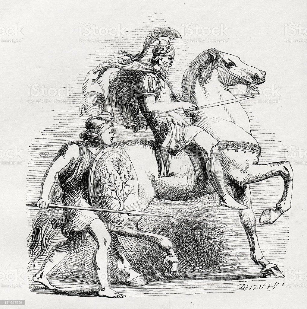 Pericles royalty-free stock vector art