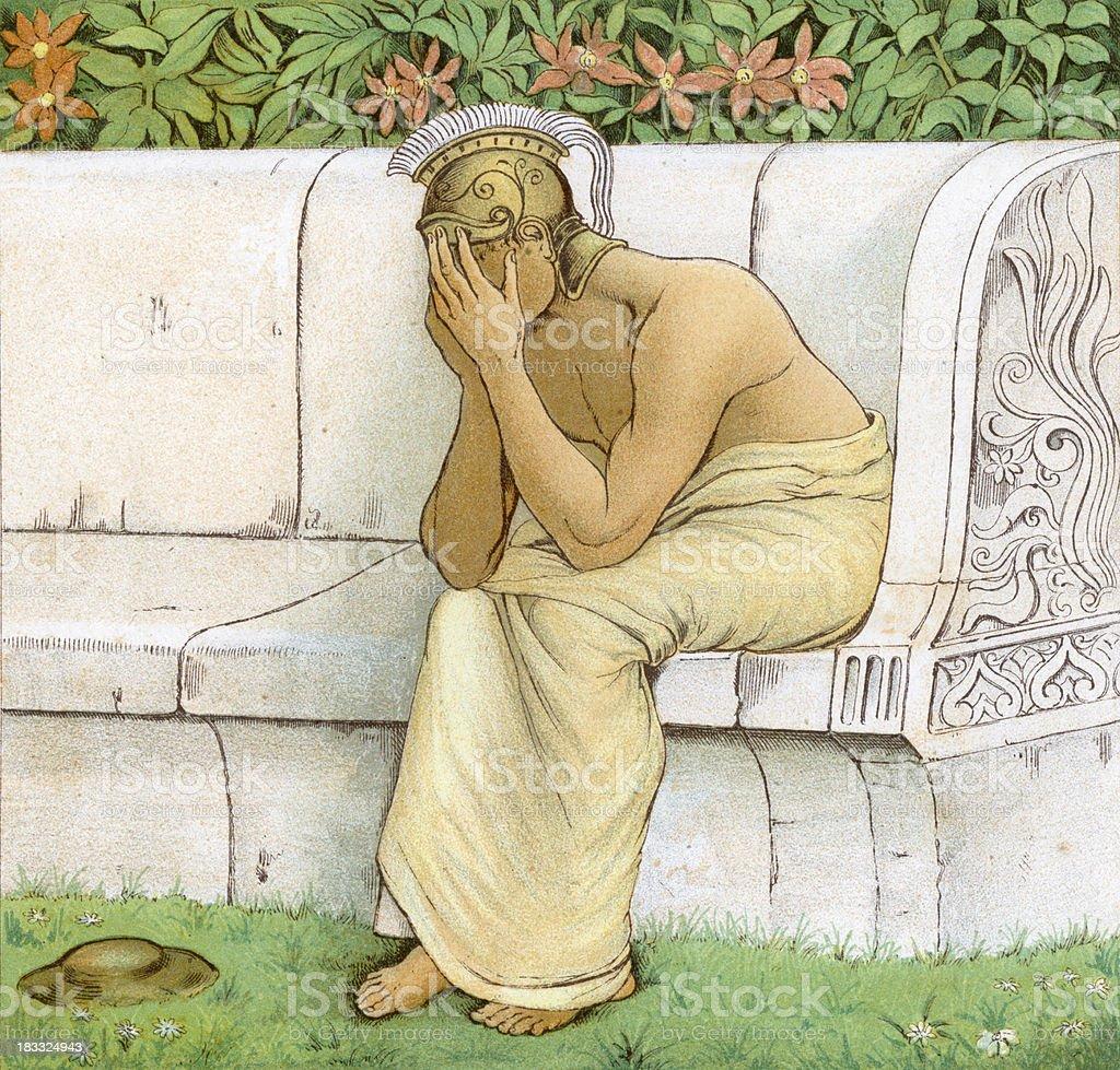 Perseus royalty-free stock vector art