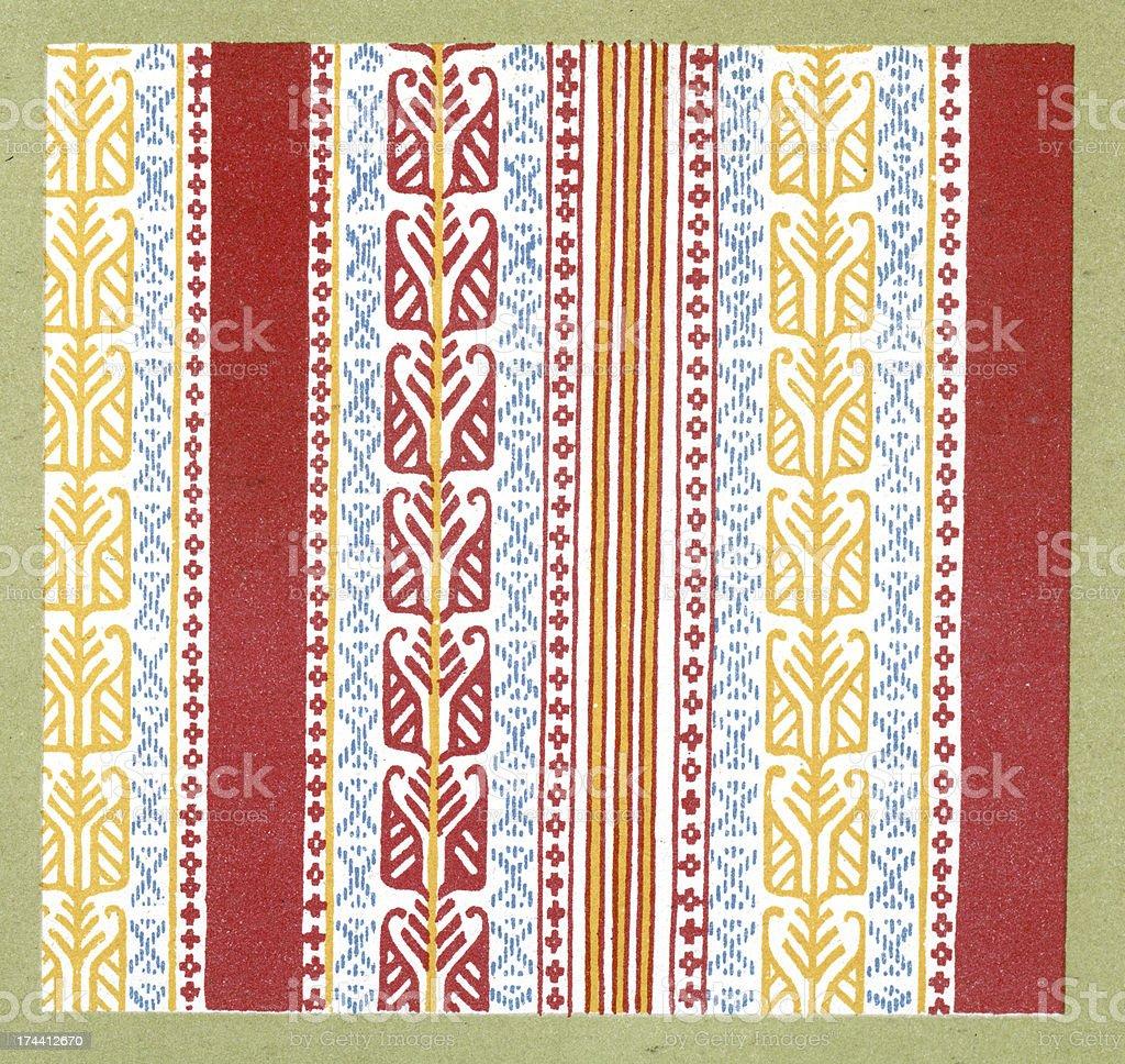 Persian Pattern royalty-free stock vector art
