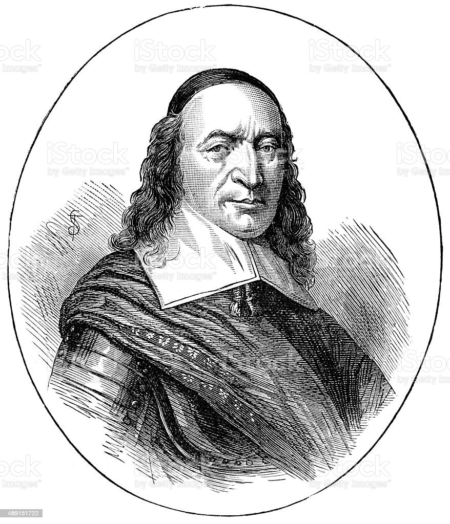 Peter Stuyvesant vector art illustration