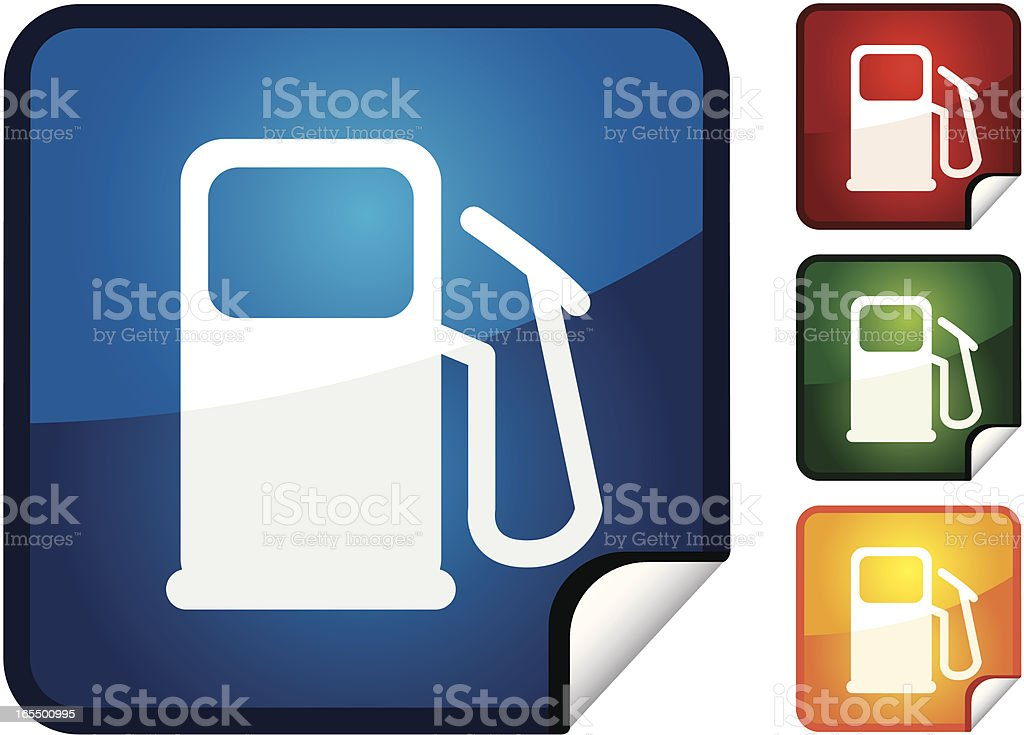 Petrol | Sticker Collection royalty-free stock vector art