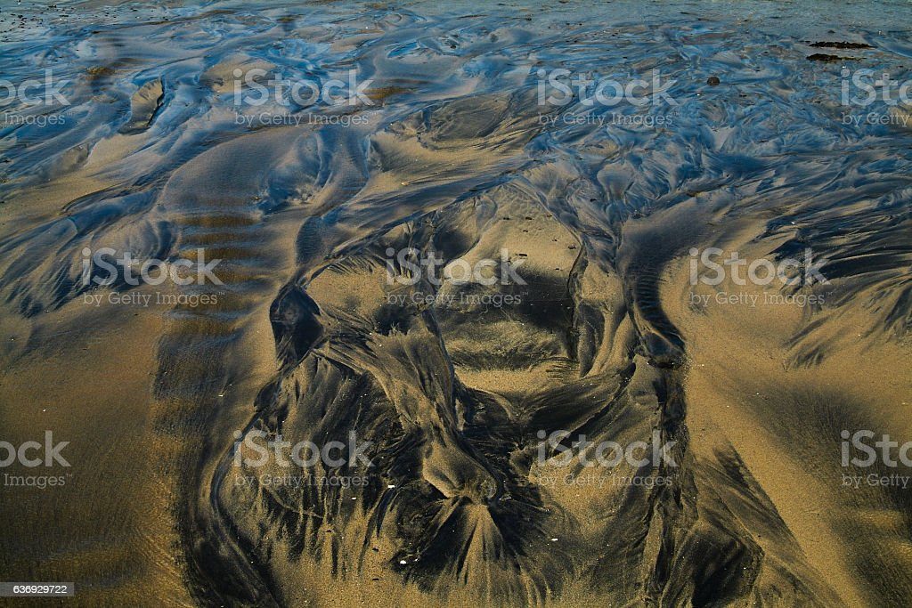 Petroleum background vector art illustration