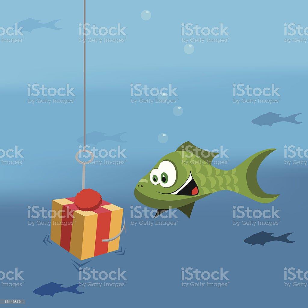 Phishing royalty-free stock vector art