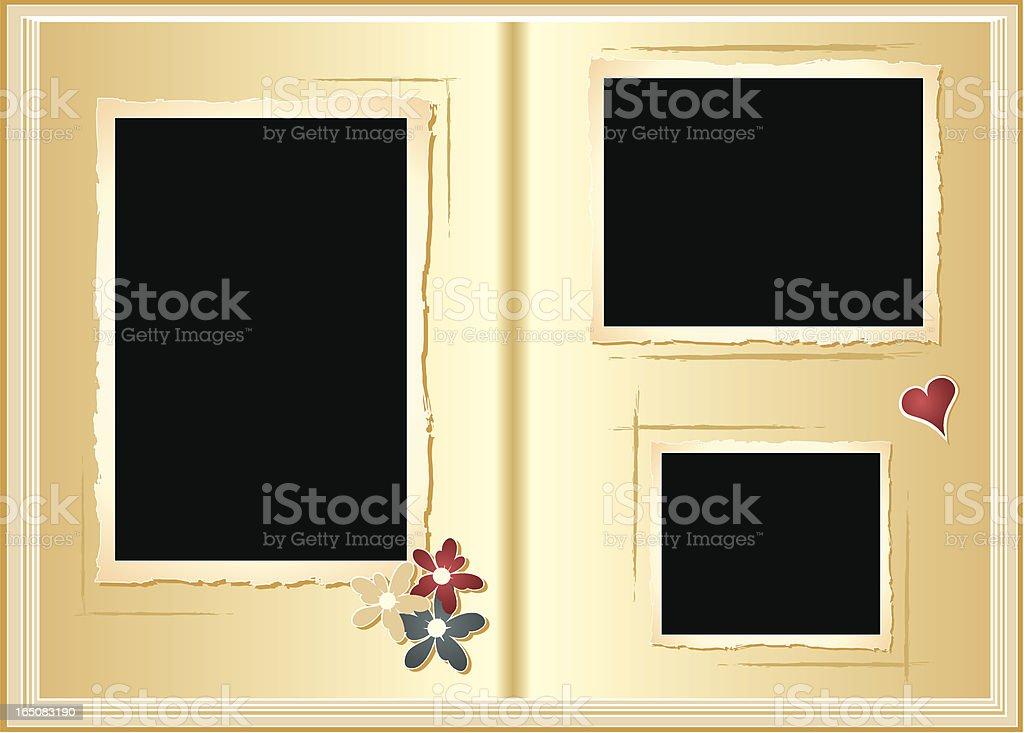 Photo Album (vector) royalty-free stock vector art