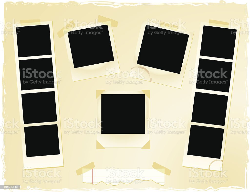 Photo Montage royalty-free stock vector art
