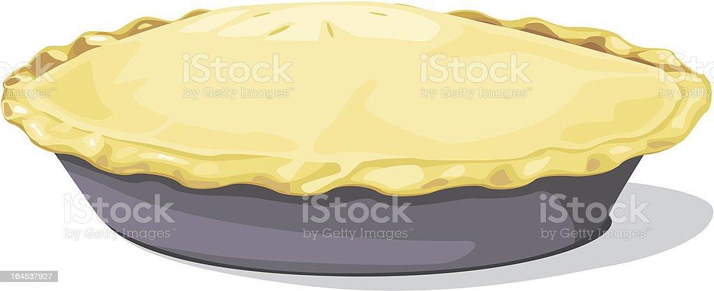 Pie royalty-free stock vector art