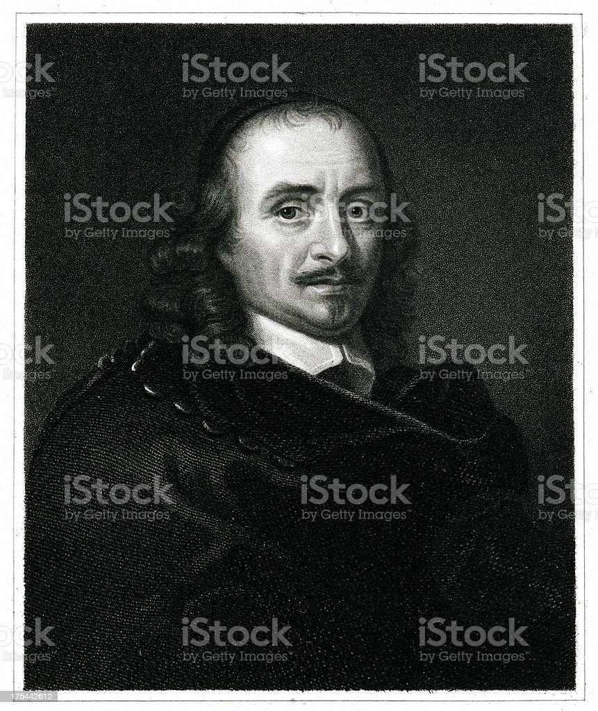 Pierre Corneille royalty-free stock vector art