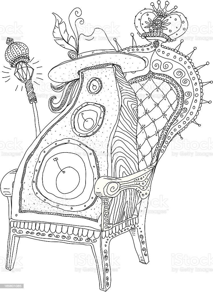 Pimpin Speaker vector art illustration