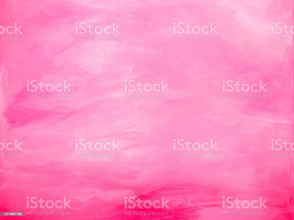 Pink acrylic brush strokes abstract background vector art illustration