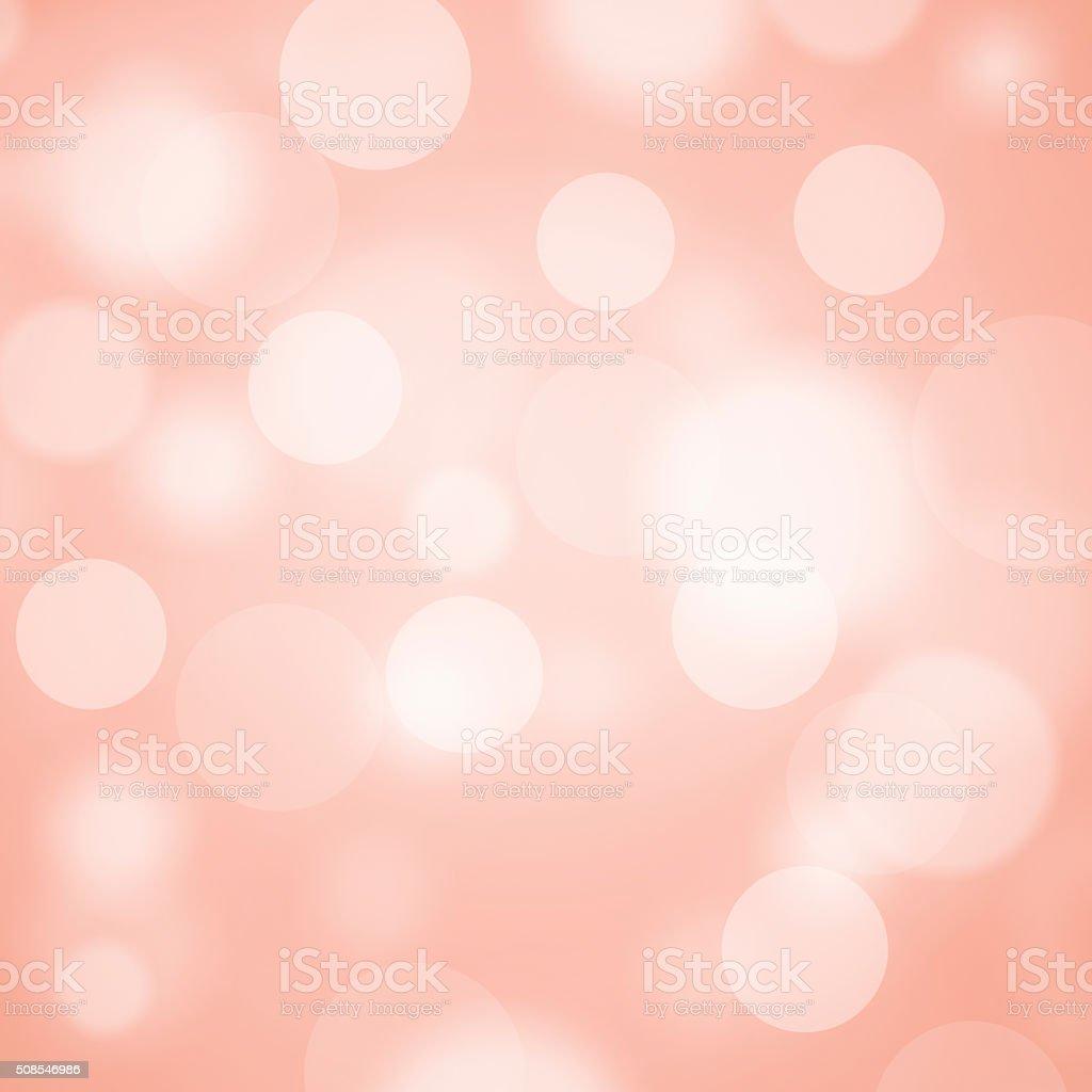 Pink bokeh background vector art illustration