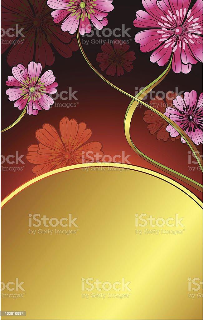 pink daisy royalty-free stock vector art