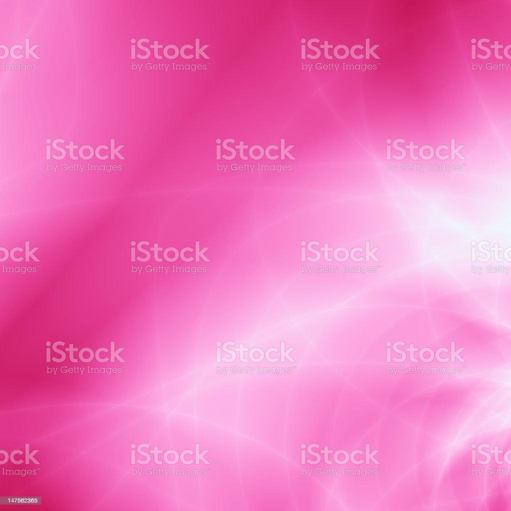 Pink love card background vector art illustration
