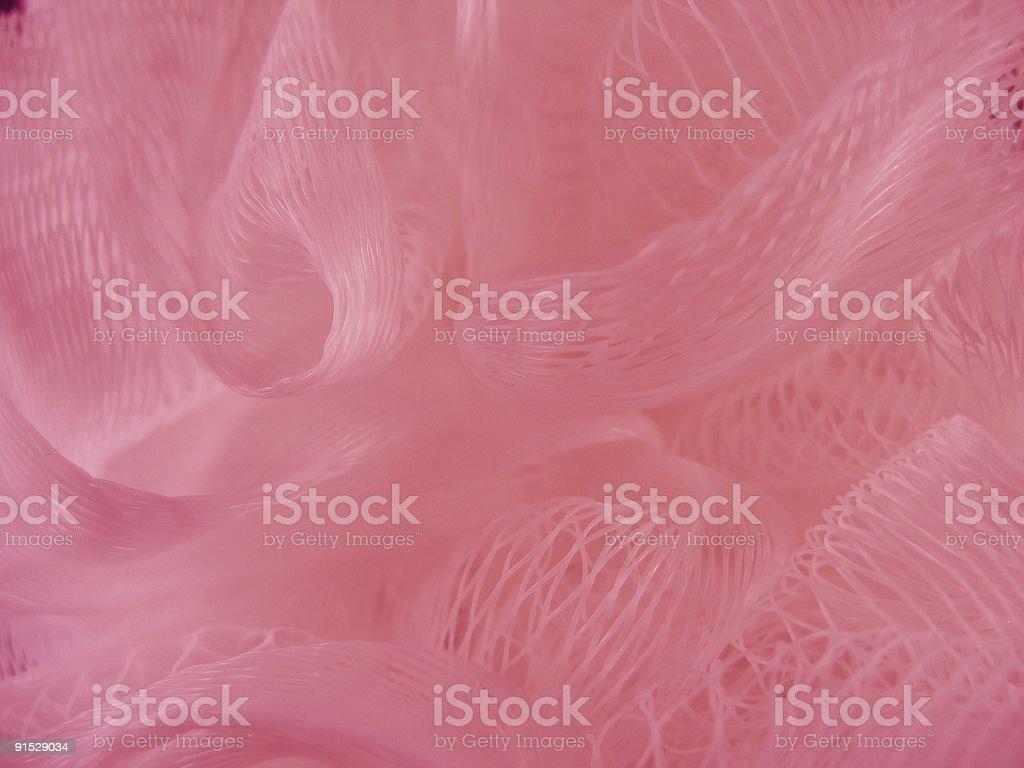 Pink Mesh vector art illustration