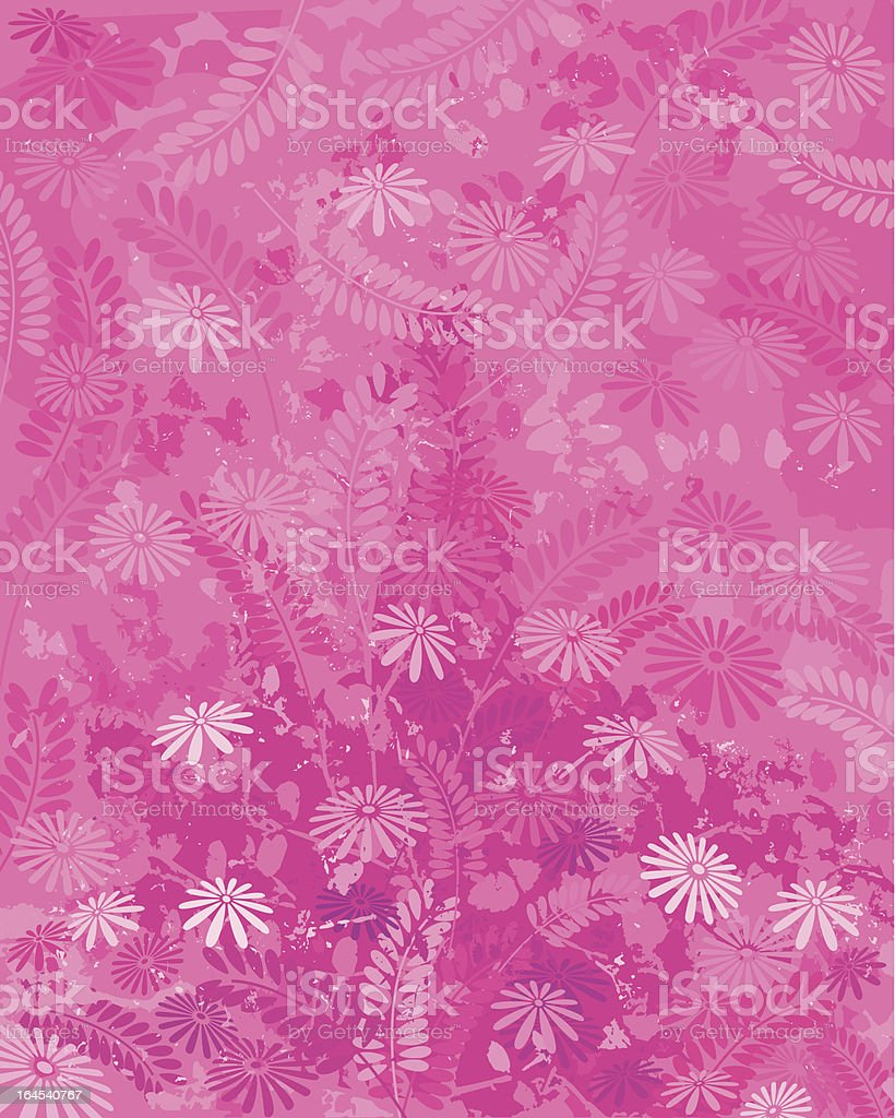 Pink Nature royalty-free stock vector art