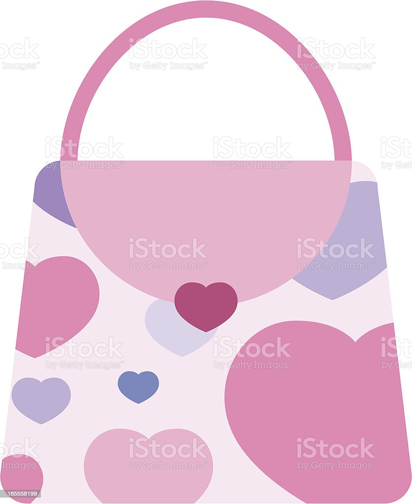 Pink Purse royalty-free stock vector art