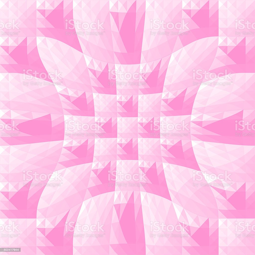 Pink triangle and square background1 stock photo