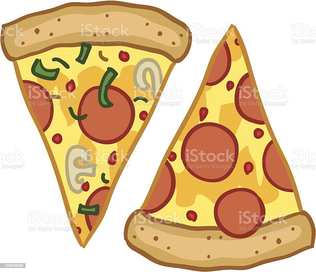 Pizza Slice vector art illustration