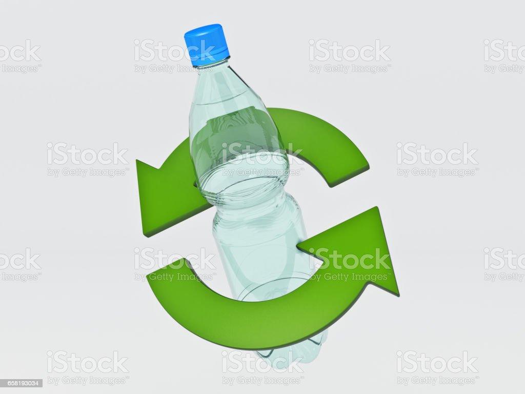 Plastic Bottle Recycling Plastic Bottle Recycling Concept Stock Vector Art 658193034 Istock