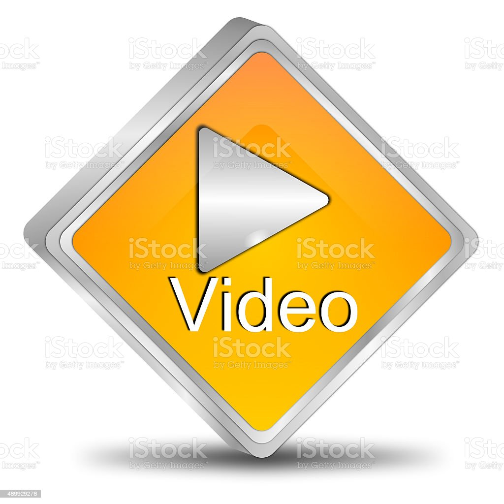 Play video Button stock photo