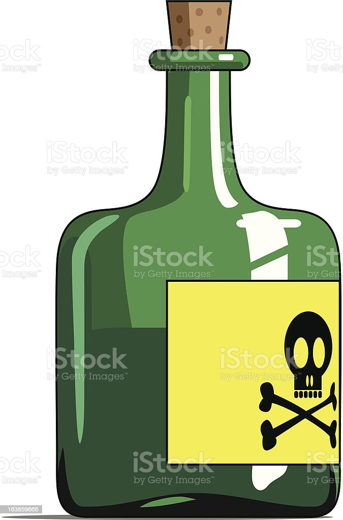 Poison Bottle : Istockphoto