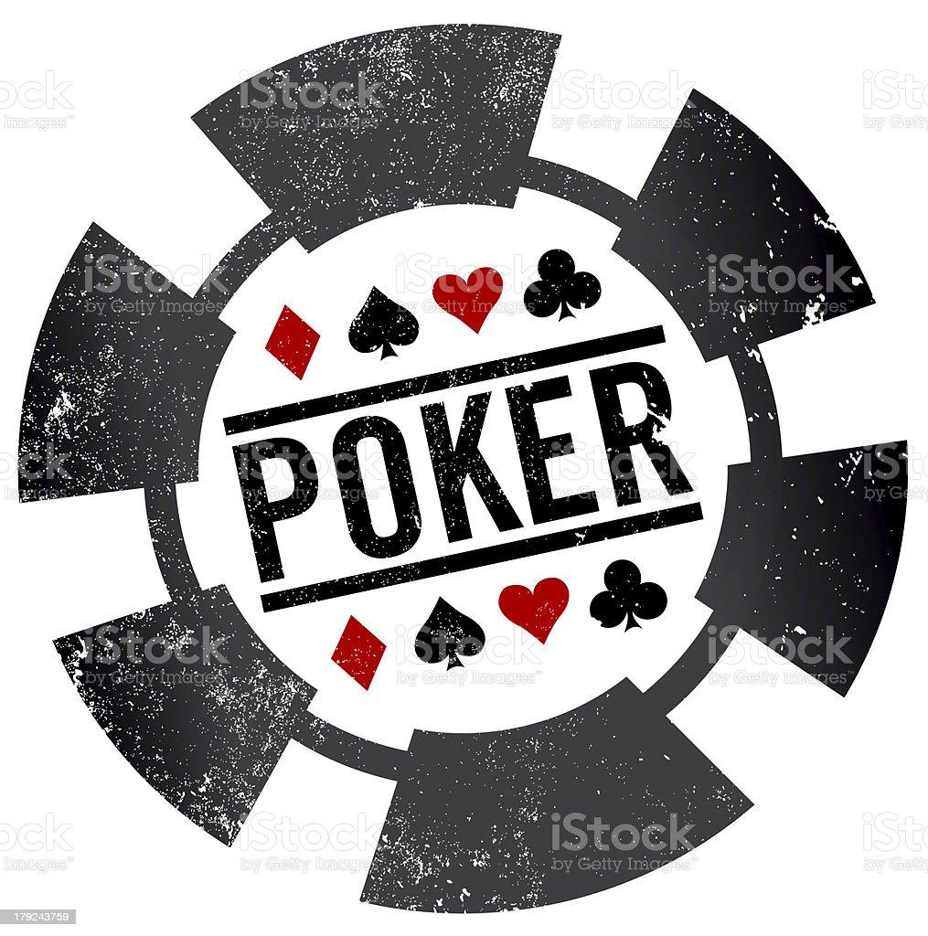 Poker card clipart