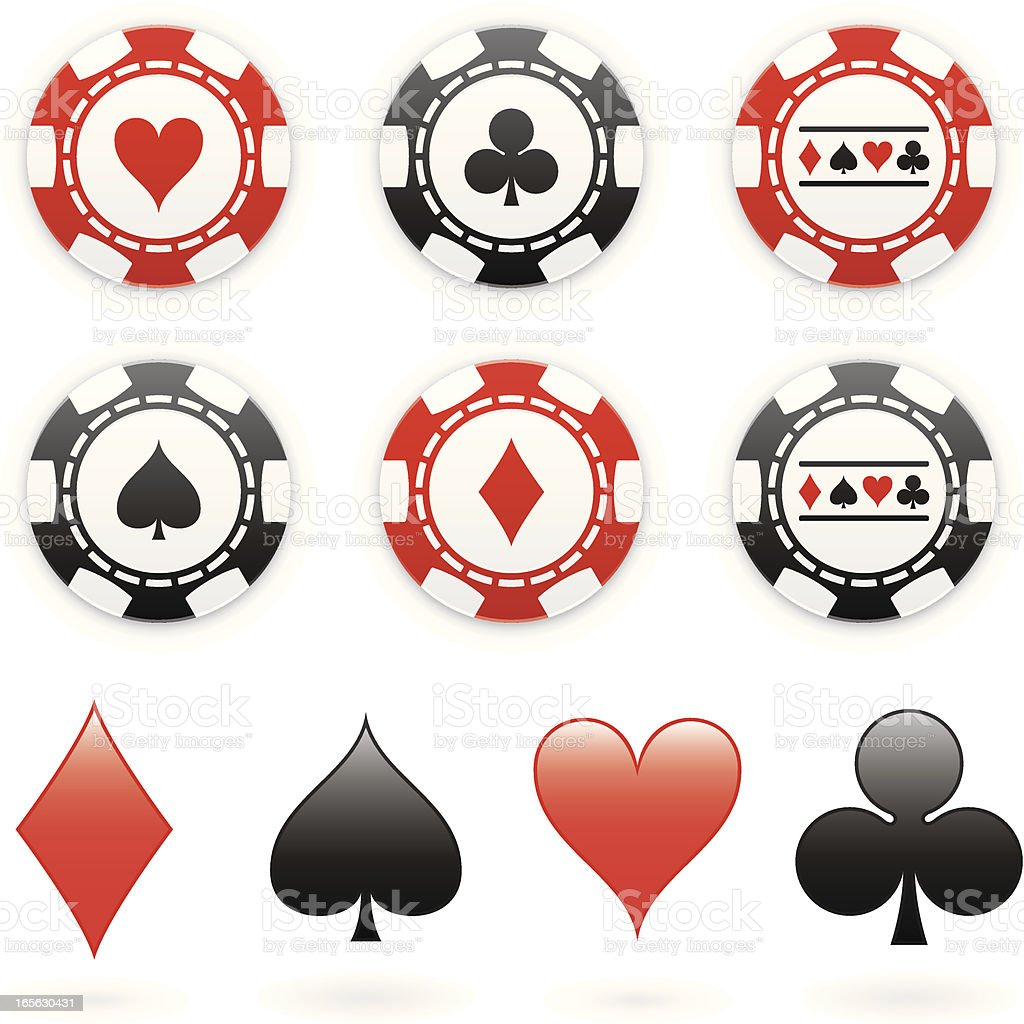 Poker chips vector free download