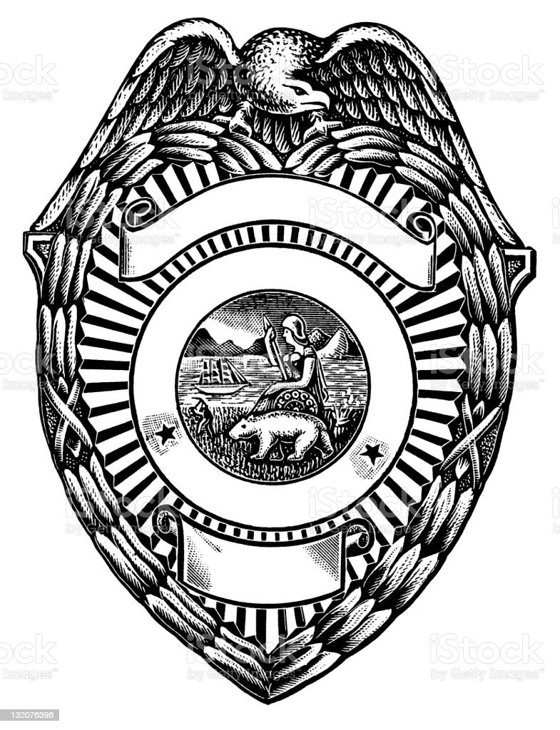 police badge stock vector art 132076396 istock