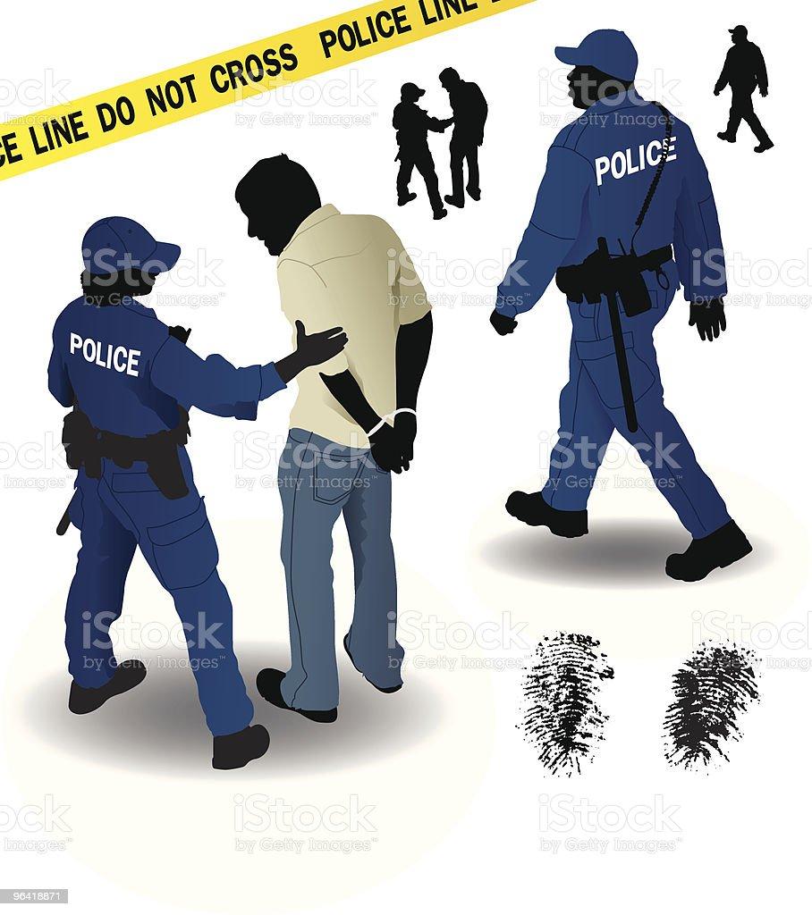 Police royalty-free stock vector art