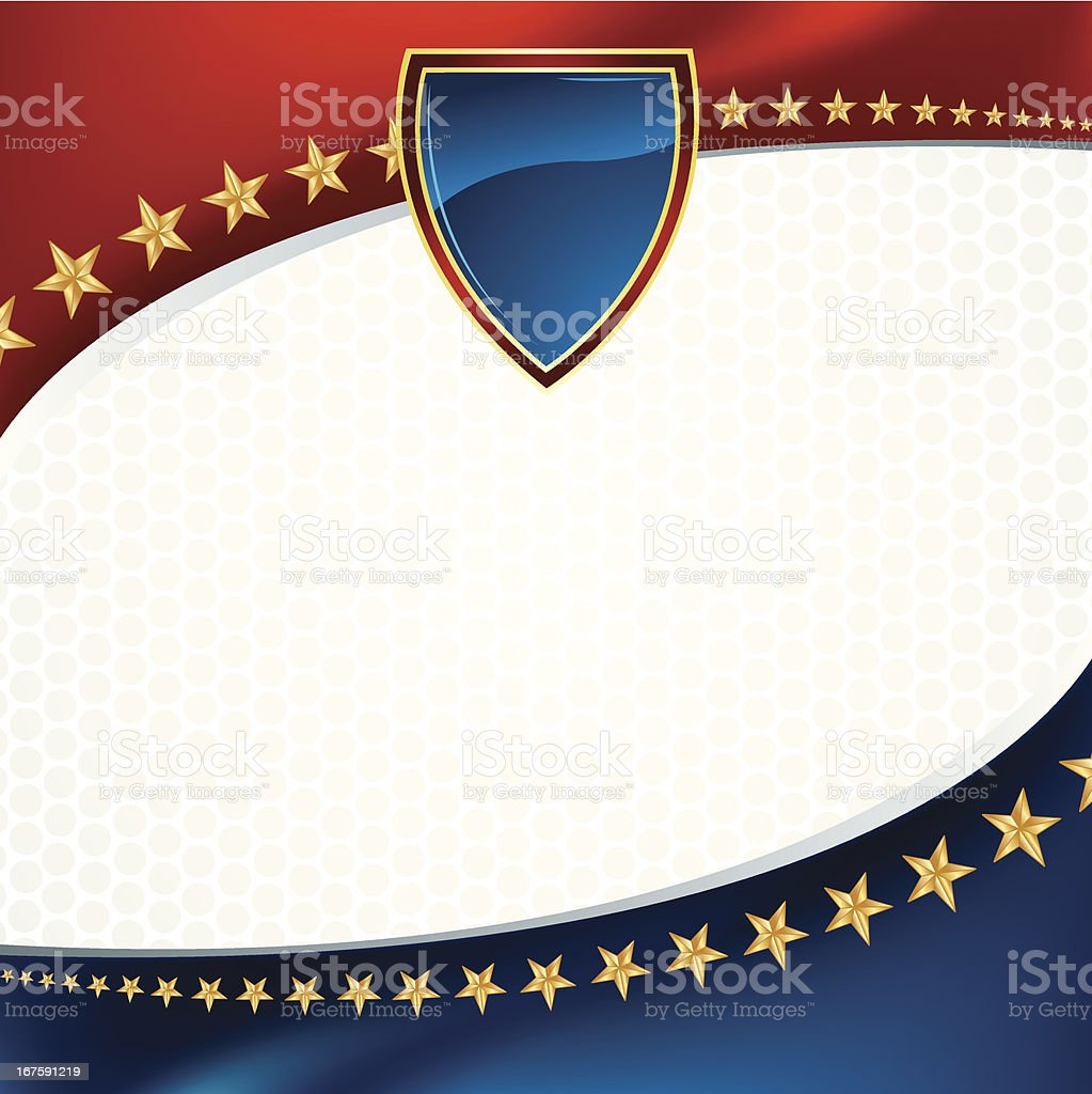 Political or Patriotic Sports Background royalty-free stock vector art