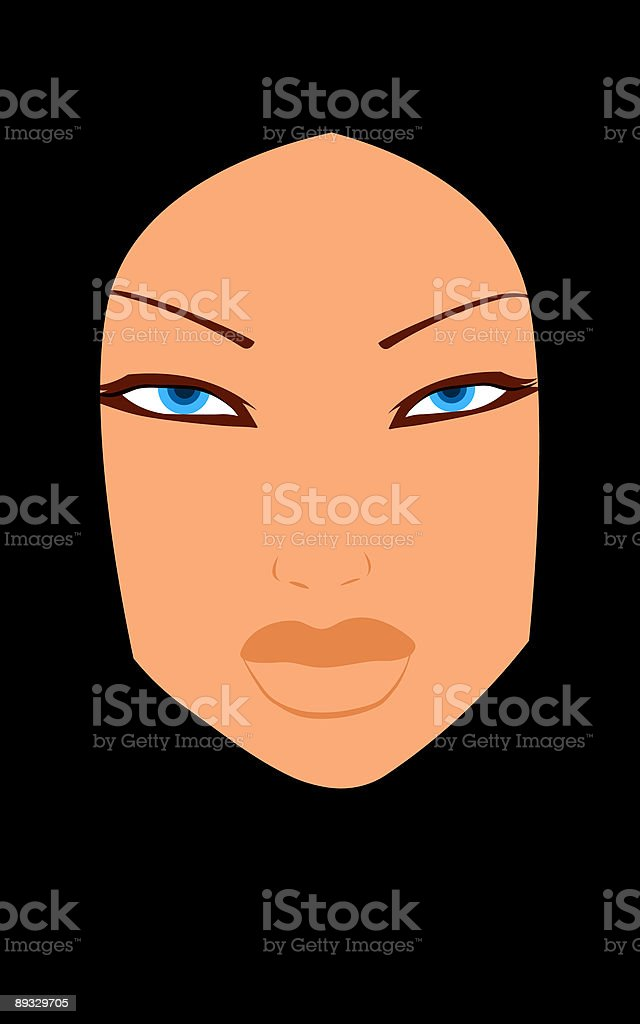 Portrait royalty-free stock vector art