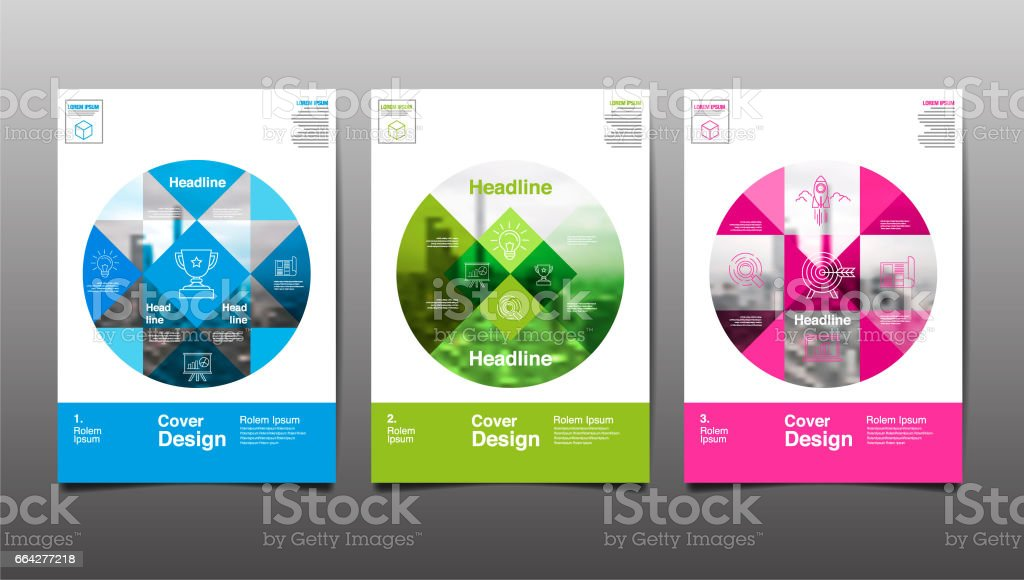 Poster , Flyer Template, Circle Abstract Background, vector Illustration vector art illustration