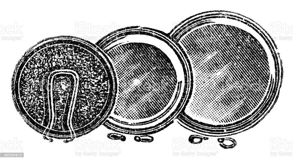 powder vector art illustration