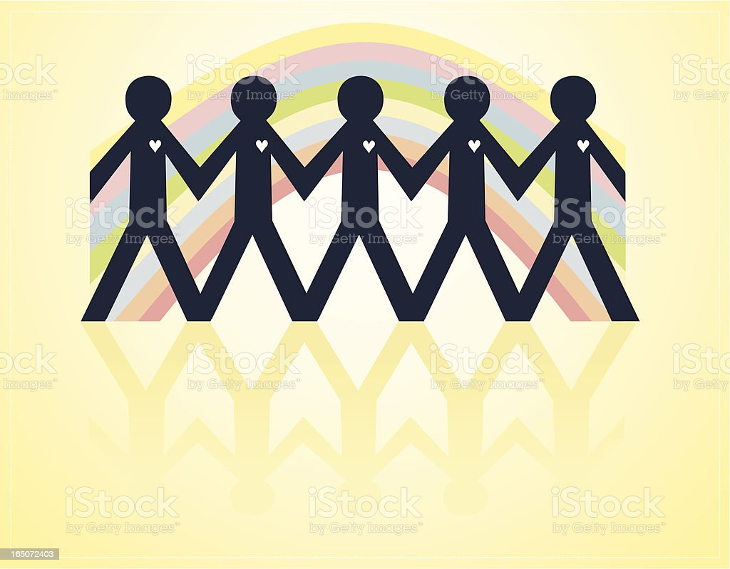 Pride - Male royalty-free stock vector art
