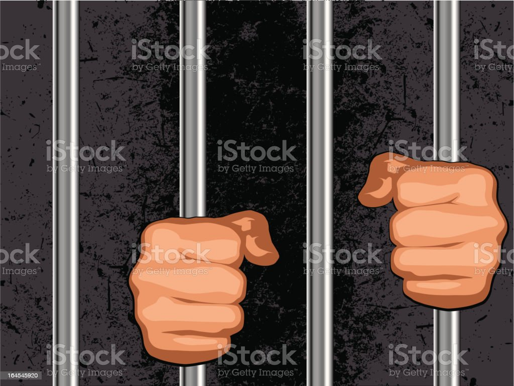 prison #3 royalty-free stock vector art