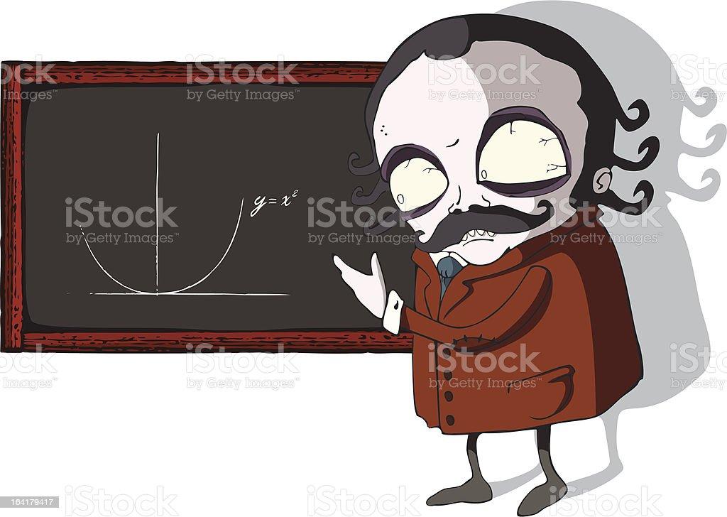 Professor royalty-free stock vector art