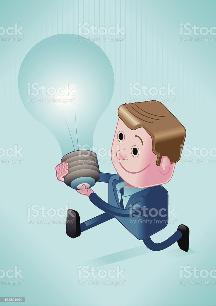 promising solution royalty-free stock vector art