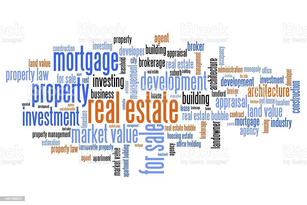 Property investment vector art illustration
